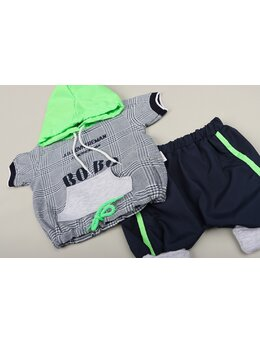 Set BOBO fashion verde