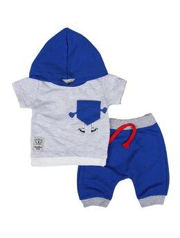Set donino baby albastru
