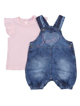 Set Love summer cu tricou roz