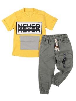 Set Never model galben-kaki