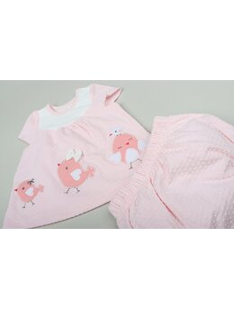 Set puiuți roz pal