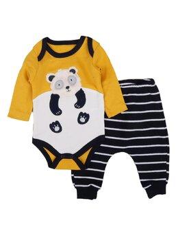 Set urs panda model galben