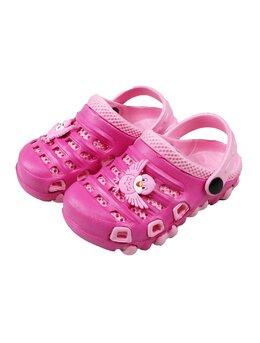 Slapi cu bufnita pentru copii model roz-ciclam