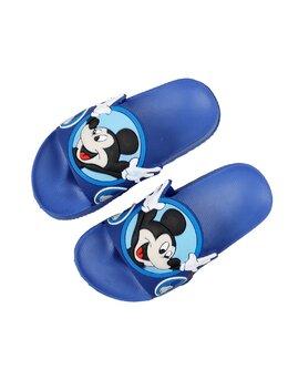 Slapi cu Mickey pentru copii model albastru