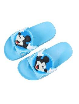 Slapi cu Mickey pentru copii model bleu