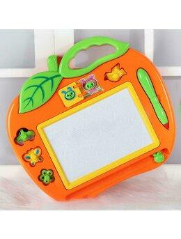 Tabla de scris in forma de mar portocaliu