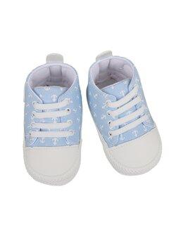 Teniși bleu cu ancore