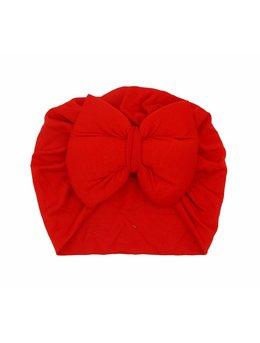 Turban roșu simplu