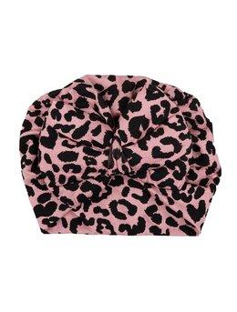 Turban roz tigrat
