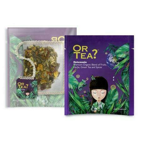 Ceai Ecologic DETOXANIA plic 10X2.5G