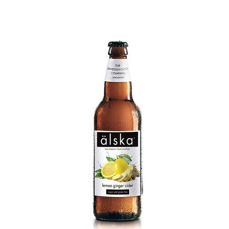 Cidru cu lamai si ghimbir Alska 0.5 L
