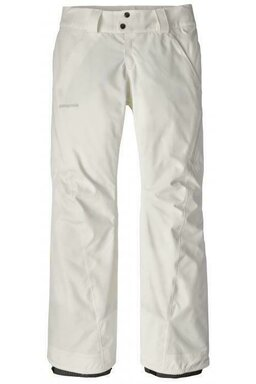 Pantaloni Patagonia Insulated Powder Birch White (Membrană Dublă Gore-Tex)