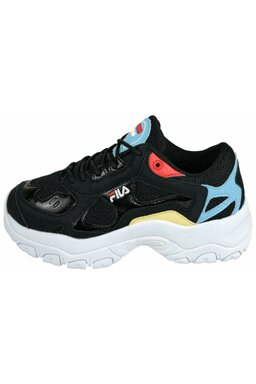 Pantofi Sport Fila Select Low Black/Crystal Blue
