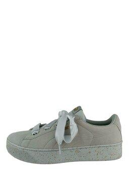 Pantofi Sport Puma Vikky Platform Ribbon Glaciar Grey