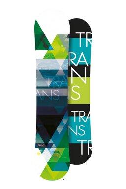 Placă Snowboard Trans FE Camber Green