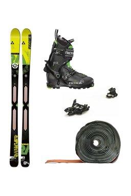 Set Ski de Tură Fischer Ranger Core Air Tech Marker Alpinist 9 Roxa RX Scout (Schiuri + Piei + Legături + Clăpari)