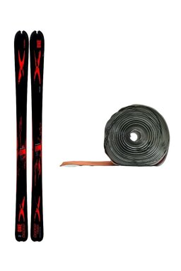 Ski de Tură Hagan One SN 71 Black/Red + Piei de Focă