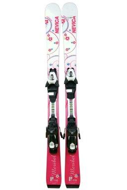 Ski Nevica Meribel Jr. + Legături Salomon