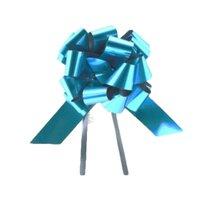 Funda cadou Strip Glossy (30 buc / set) Albastru royal 31mm