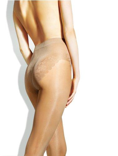 Ciorapi cu chilot decorat Lores Chantal Bikini 20 den