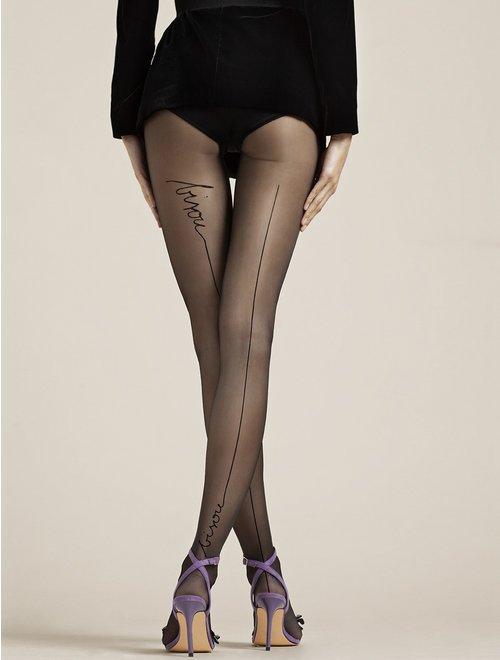 Ciorapi cu dunga Fiore Bisou 20 den