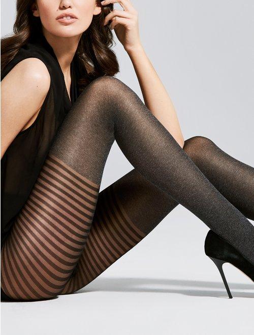 Ciorapi cu model Fiore Bonjour 40 den