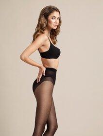 Ciorapi cu picatele si modelare abdomen Fiore High Point 20 den