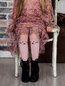Ciorapi fete cu model pisica Knittex Meow 40 den