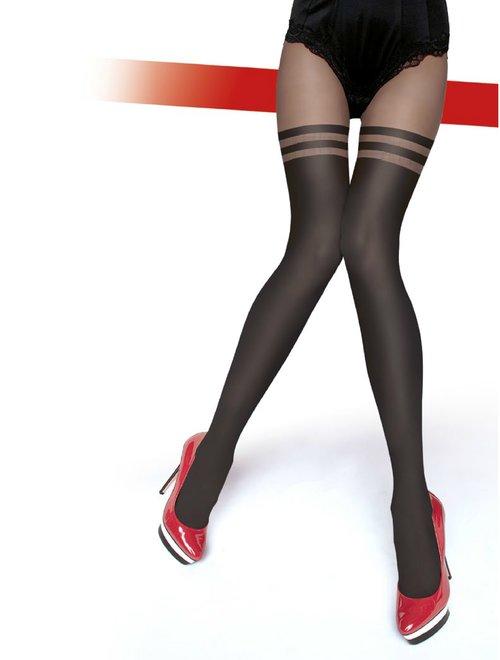 Ciorapi cu model Fiore Dulcinea 60 den