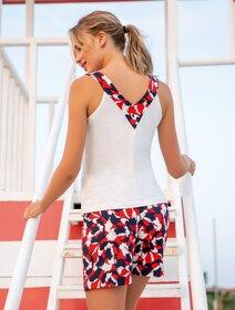 Pijamale scurte viscoza cu model Berrak 884