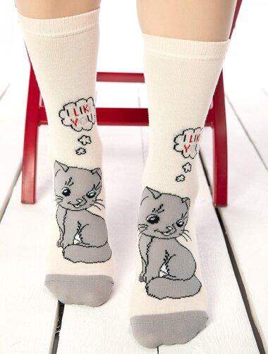 Sosete amuzante cu pisicuta Socks Concept SC-1712