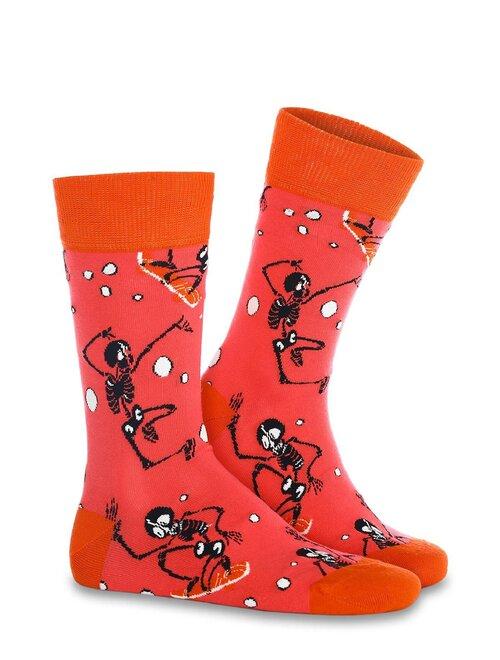 Sosete amuzante cu sechelet Socks Concept SC-1856
