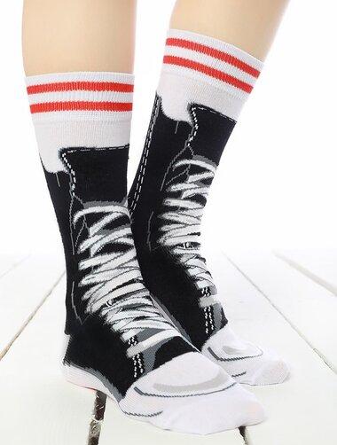 Sosete colorate imitatie tenisi Socks Concept SC-1549-1
