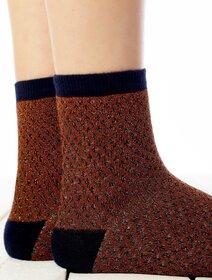 Sosete cu model si fir metalizat Socks Concept SC-1816-1