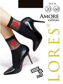 Sosete lycra cu model Lores Amore 60 den