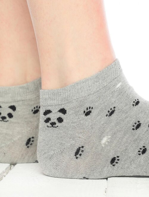 Sosete scurte cu ursulet Socks Concept SC-1724-2