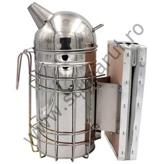 Afumator inox model american cu cilindru