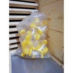 Borcan miere plastic alimentar rotund 280g bax 50 buc