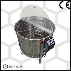 Centrifuga apicola combinata 6 rame 1/1 tangential sau 42 rame 3/4 radial  electrica 220V/12V Techtron