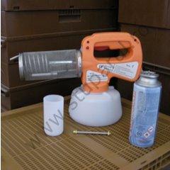 Fogger butan imbunatatit cu butelie si echipament protectie