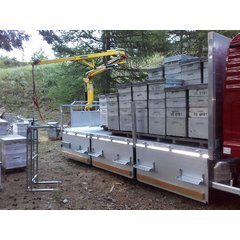 Macara apicola cu brat 4,9 m incarcatura maxima la varf 200kg