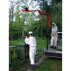Macara apicola, lungime 3 m, inaltime 2 m, sarcina la varf 100 kg, rotire 360 grade
