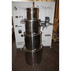 Maturator inox alimentar cu manere si canea inox 50 kg