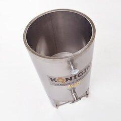 Omogenizator miere din inox cu picioare si incalzire 2000 litri Konigin