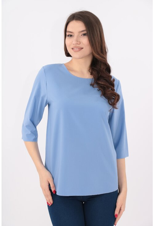 Bluza lejera uni bleu