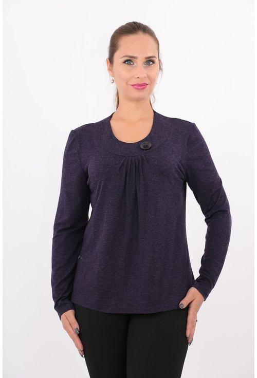 Bluza mov din tricot