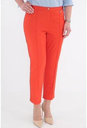Pantaloni conici 7/8 orange