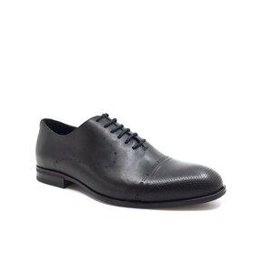 Pantofi barbati eleganti din piele naturala Leofex- 934-2 Negru Box