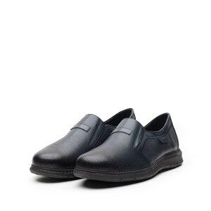 Pantofi casual barbati din piele naturala, Leofex - 623 Blue box