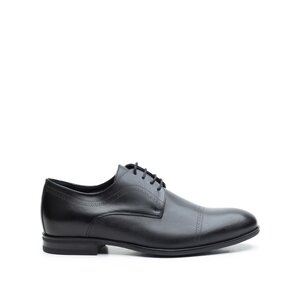 Pantofi eleganti barbati din piele naturala Leofex- 932 Negru